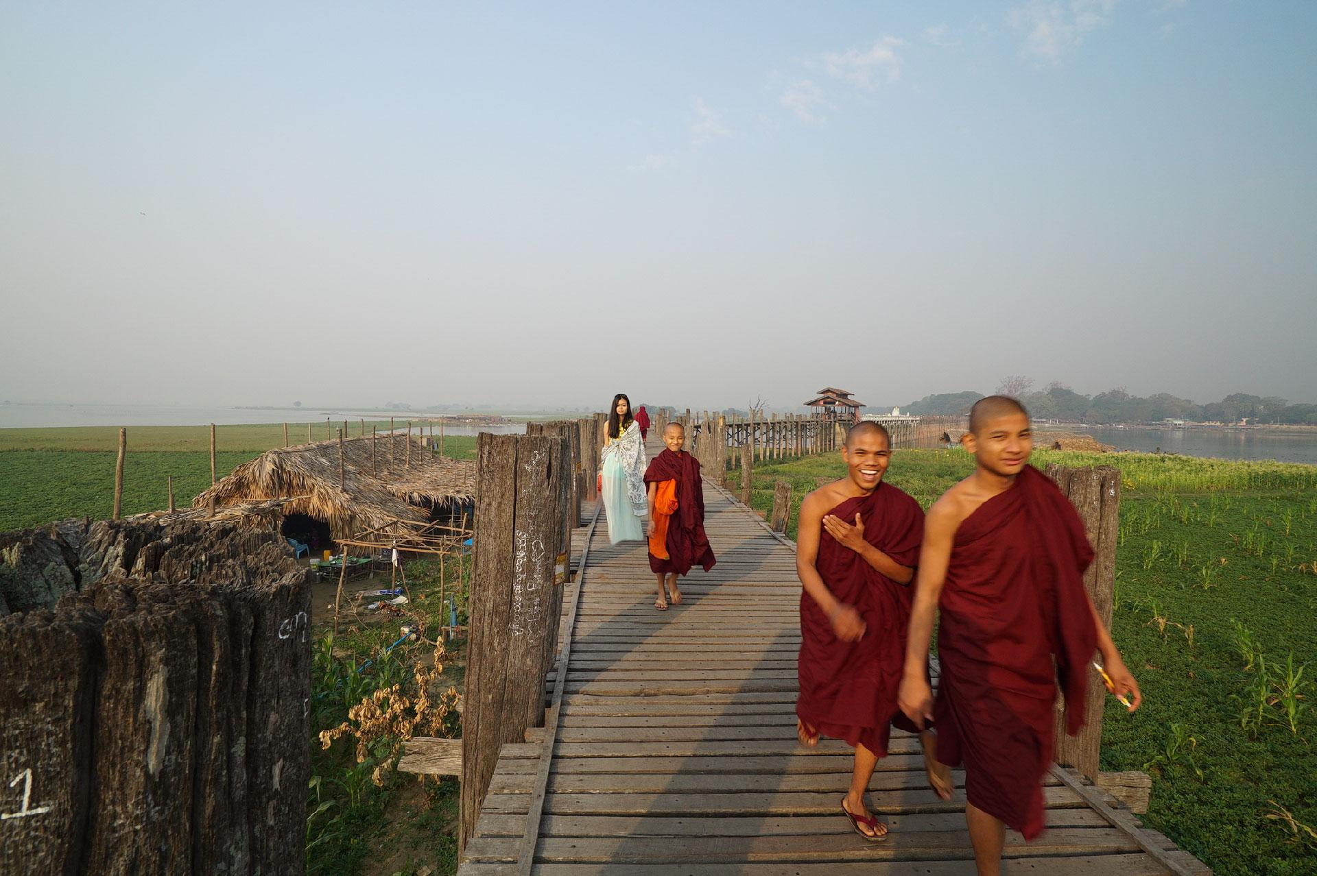 SUNRISE AT U BEIN BRIDGE | MYANMAR