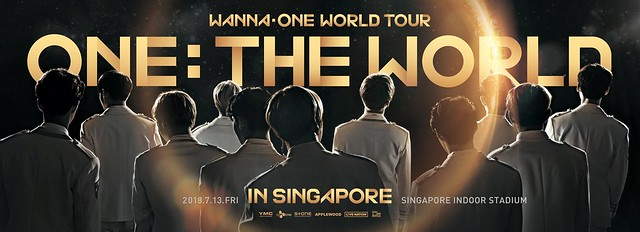 WANNA ONE IN SINGAPORE