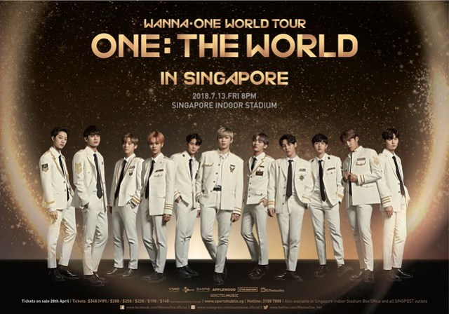 WANNA ONE 'ONE: THE WORLD' IN SINGAPORE