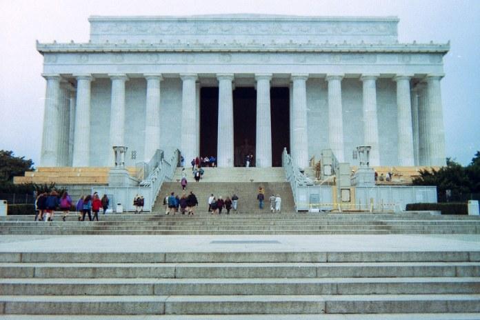 Lincoln Memorial, 1993