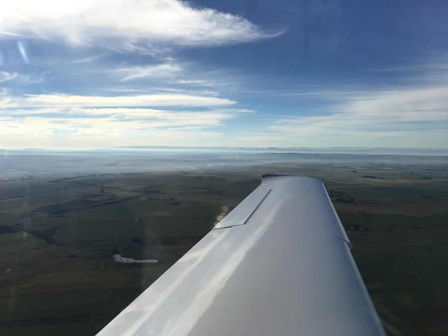 Somewhere over the West Rand