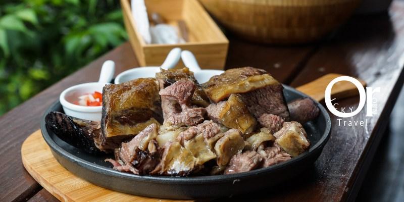 台北東門|M&F深法廚房,深夜裡的法國手工甜點與阿根廷慢烤帶骨牛小排,從主餐到甜點都讓人意猶未盡