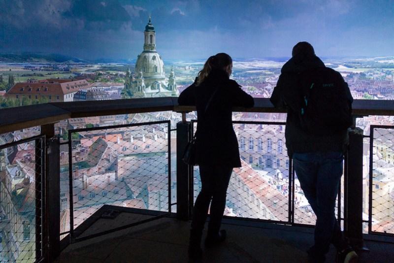 Panometer Dresden im Barock