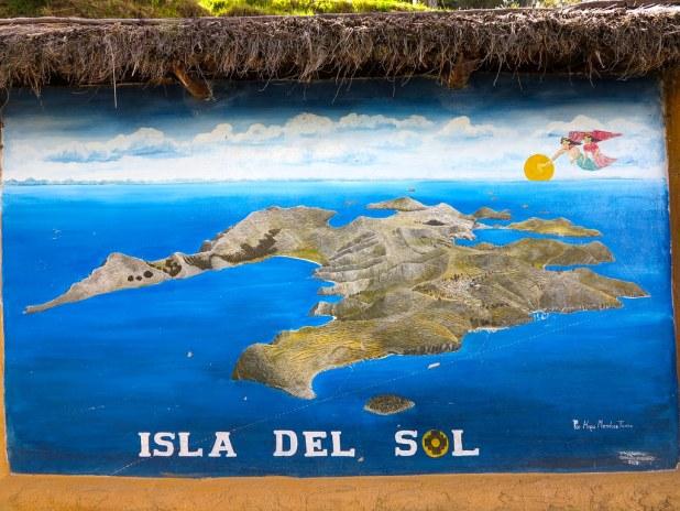 Cartel isla del Sol