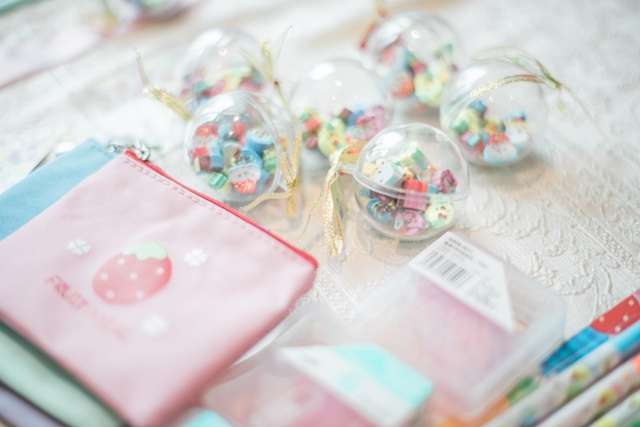 girly japanese party prizes