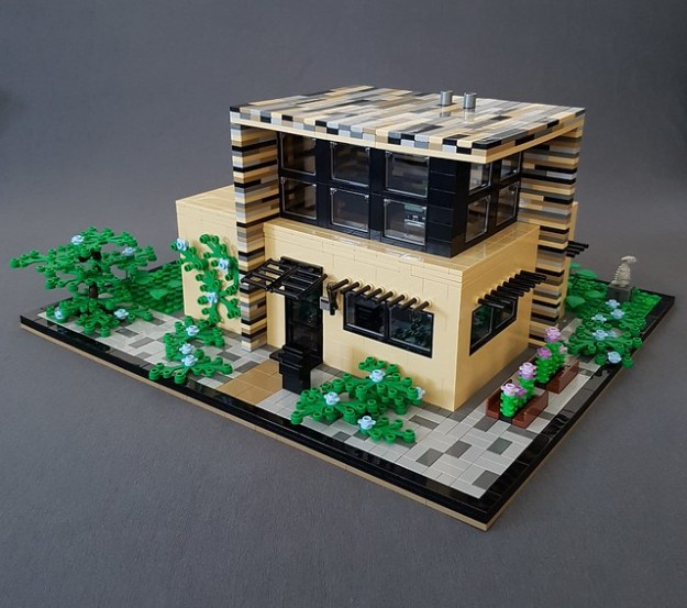 Vanilla House MOC kitchen corner