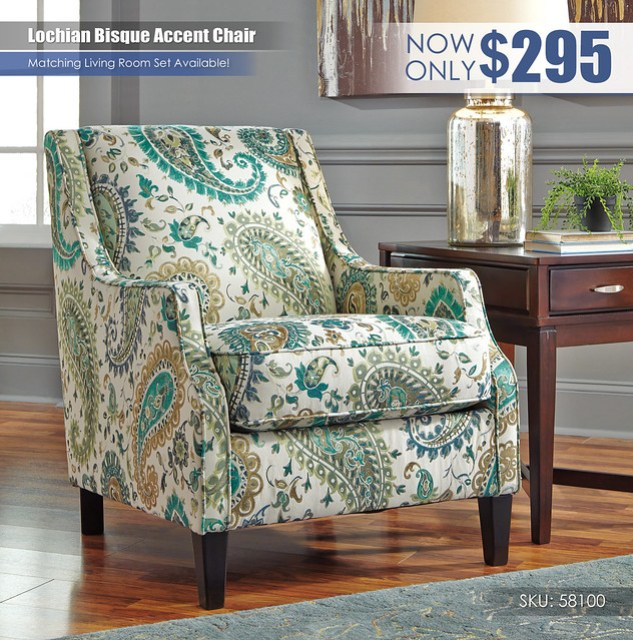 Lochian Bisque Accent Chair_58100-21