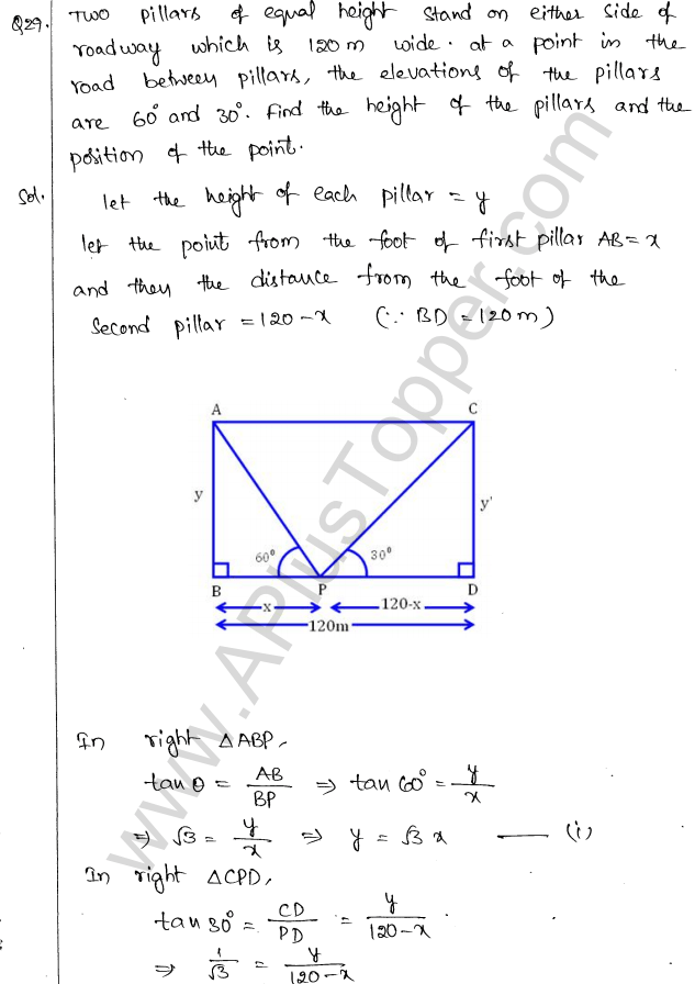 ml-aggarwal-icse-solutions-for-class-10-maths-chapter-21-heights-and-distances-31