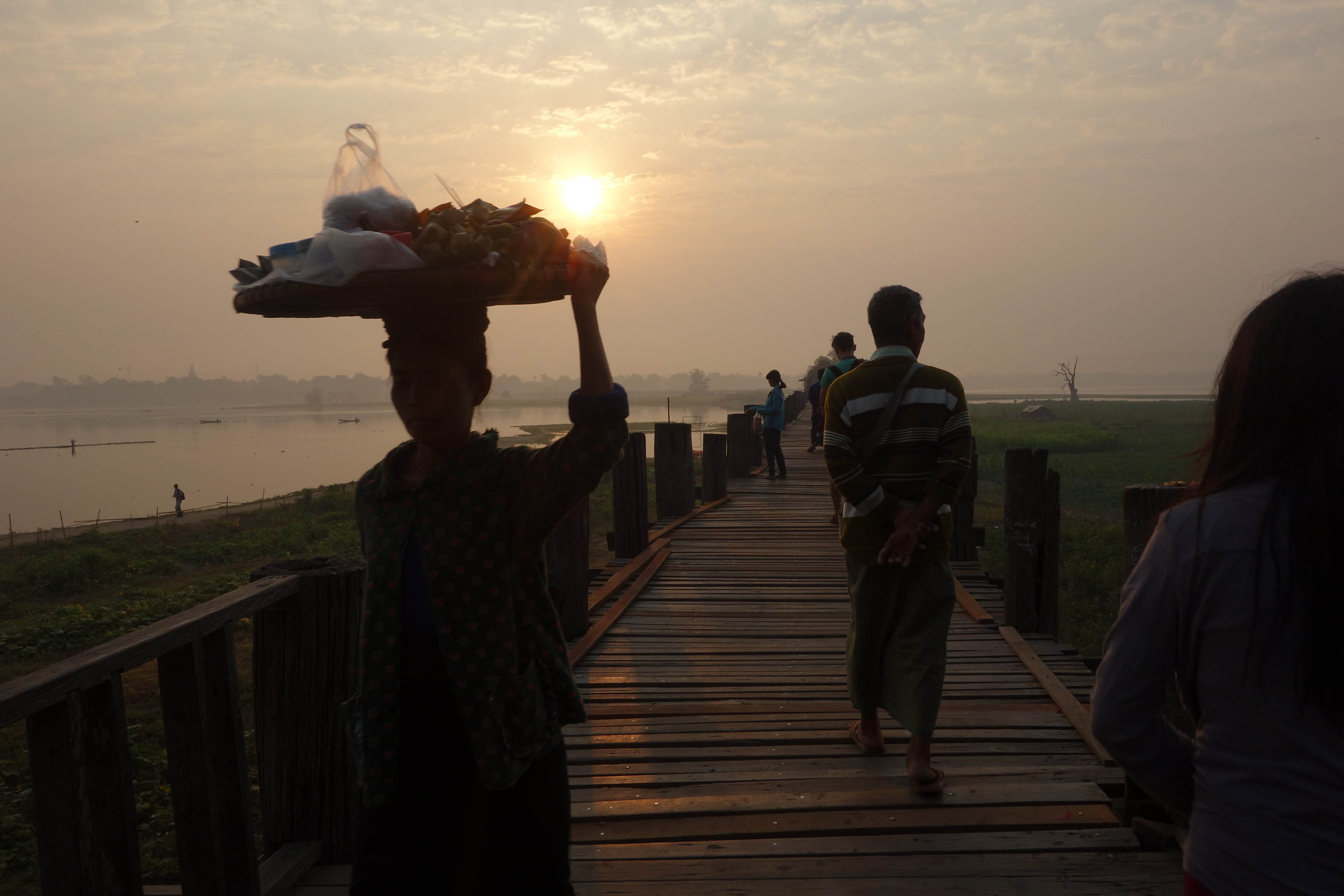 SUNRISE AT U BEIN BRIDGE | MYANMAR
