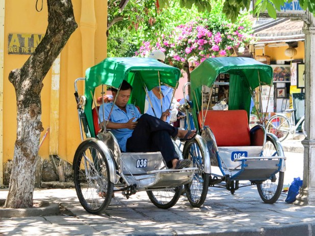 Tuk tuk en Vietnam