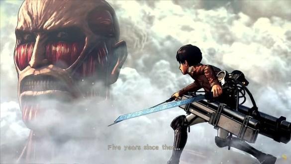 Attack On Titan 2 - Eren Faces Colossal Titan