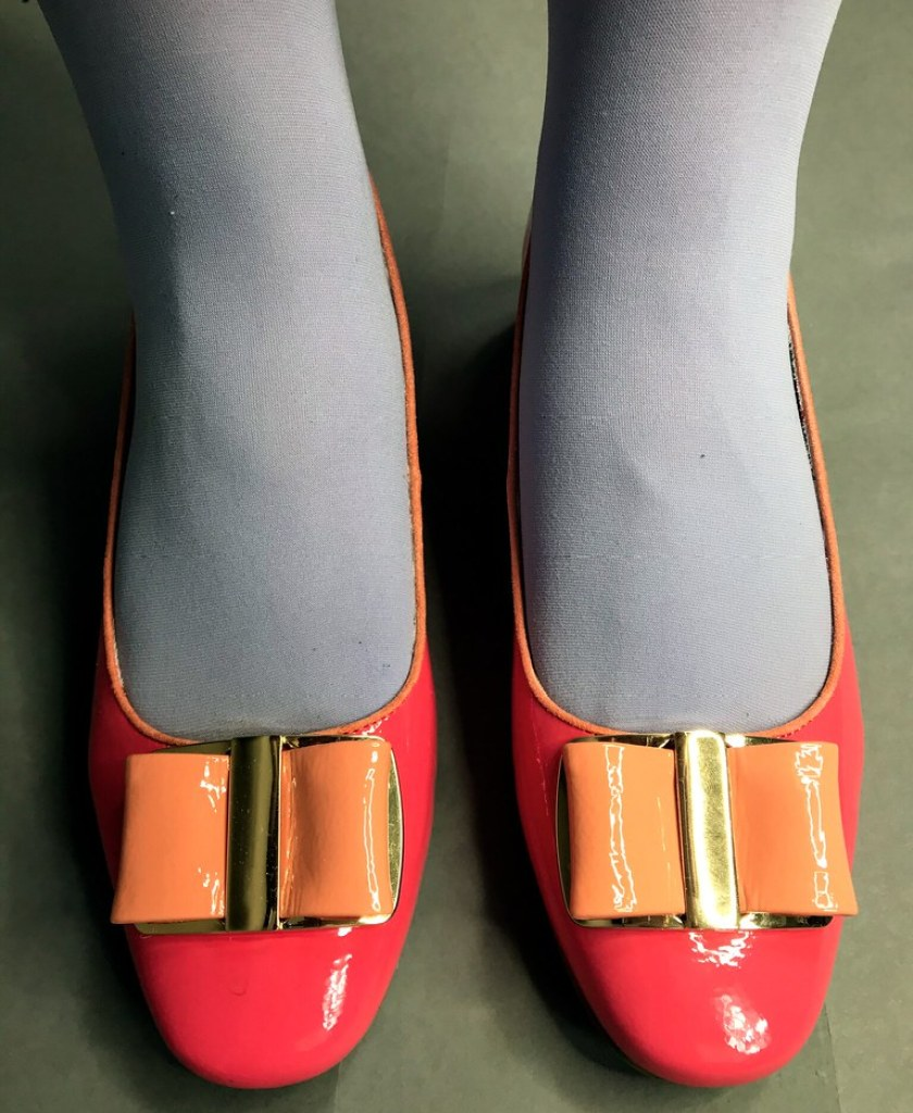 Ruby Shoo Coral June Shoe