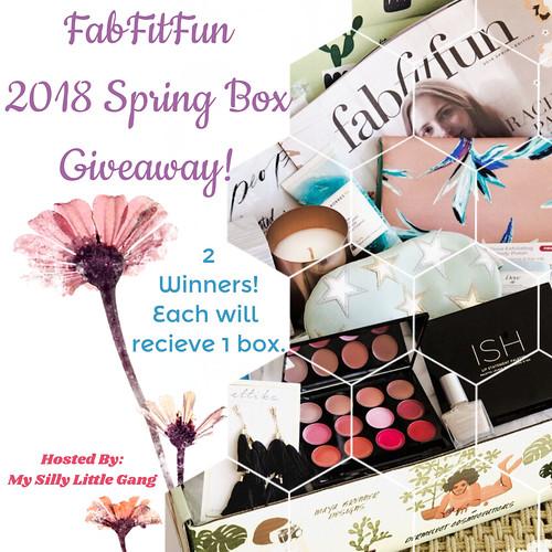 FabFitFun 2018 Spring Box Giveaway