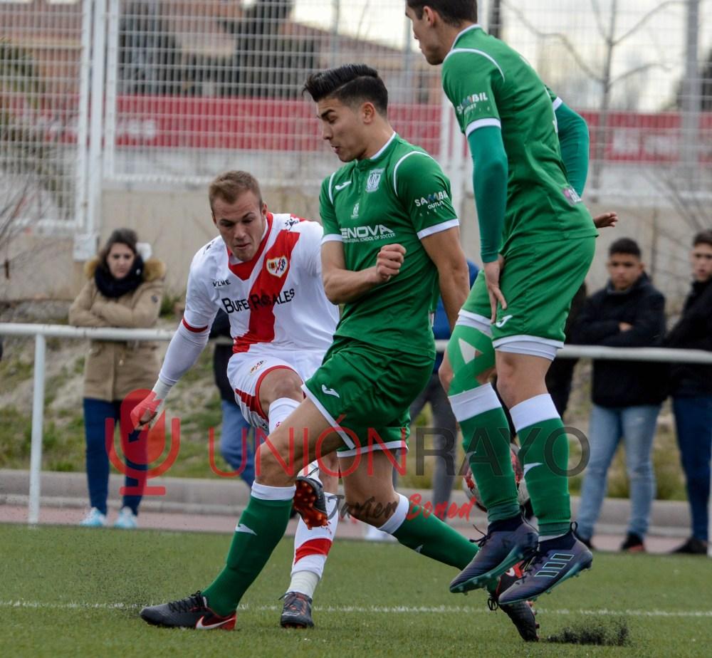 Rayo B 5-1 Leganés B