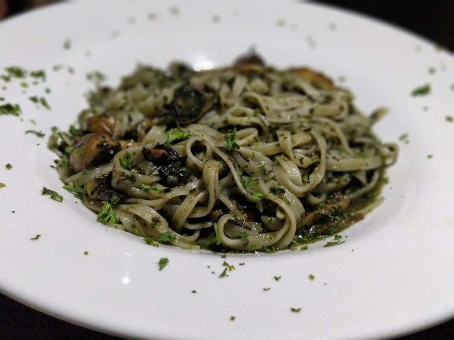 Topolino's Italian Restaurant Hazyview Mpumalanga South Africa Tagliatelle pesto pasta
