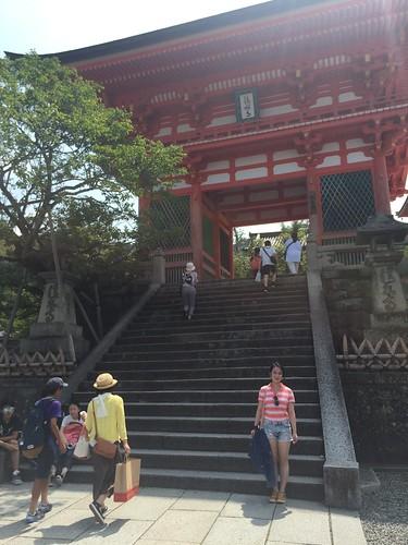 Kyoto Kiyomizu-dera. Elaine Jiang: #StudyAbroadBecause...there was nowhere to go but everywhere!