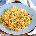 Poha veg fried rice