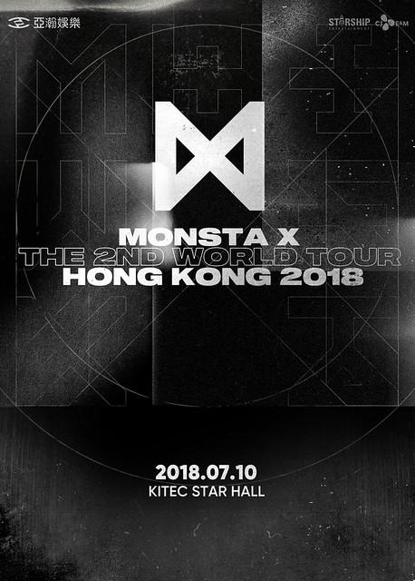 MONSTA X 2ND WORLD TOUR IN HONG KONG