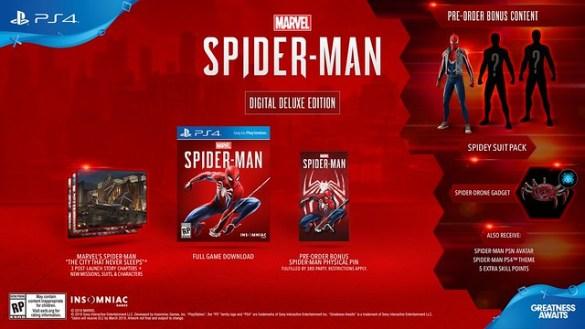 Marvel's Spider Man Digital Deluxe Edition