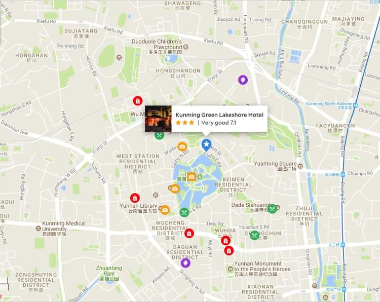 Hotels In Kunming City Centre