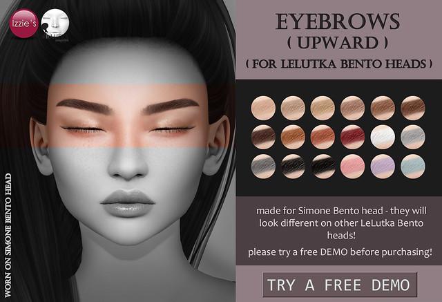 Lelutka Eyebrows upward