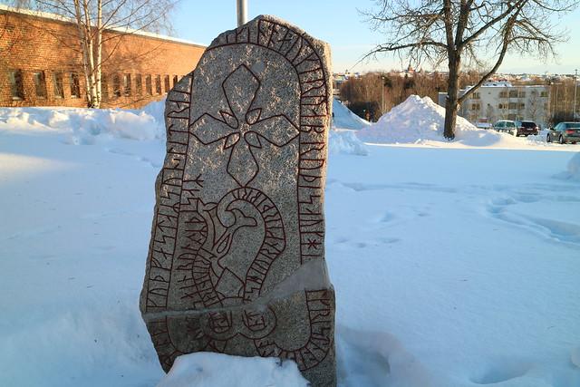 Meest noordelijke runesten Frösö Östersund (2)