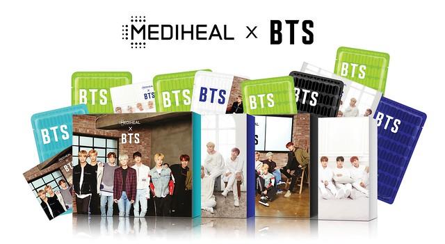 Mediheal x BTS Mask Packs