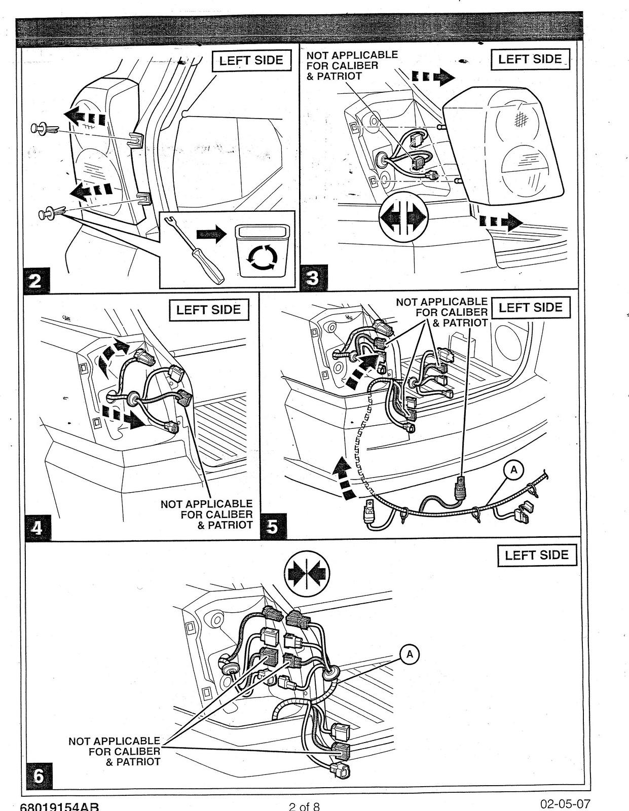 07 Fdi Tow Wiring Harness Install Manual