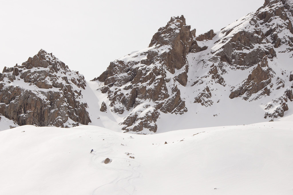 Kazakhstan Shymbulak sidecountry
