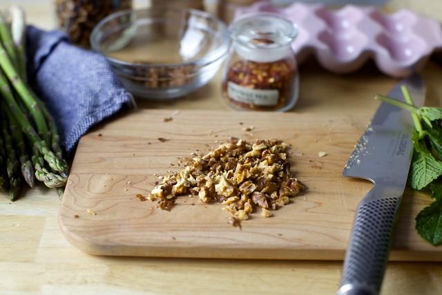 well-toasted walnuts