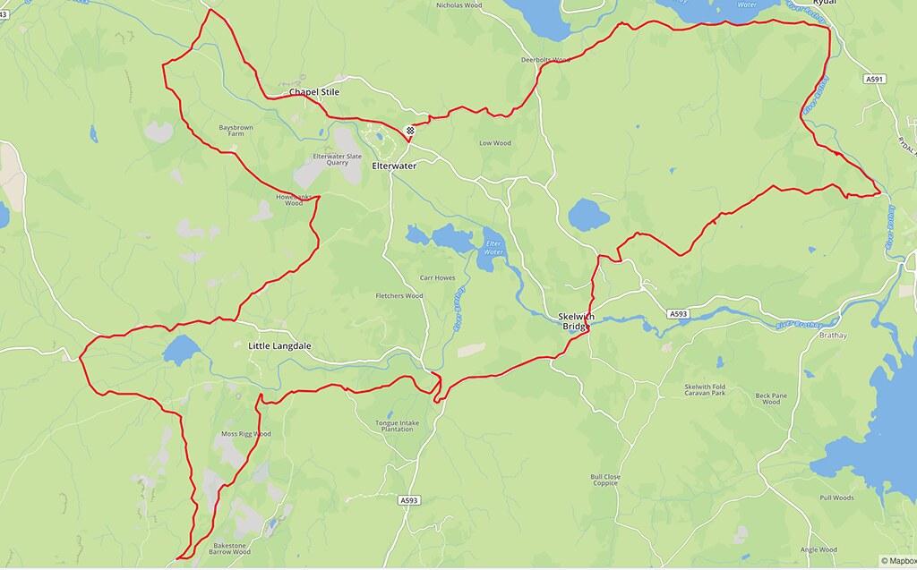 Loughrigg Map