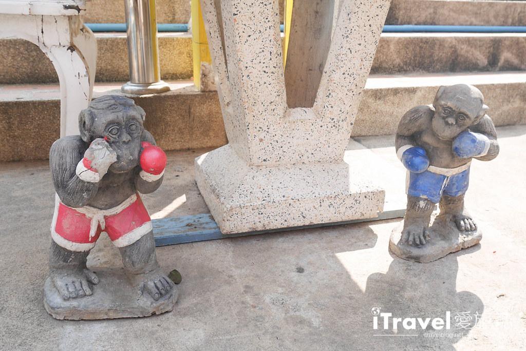 華欣景點推薦 考佬寺Wat Khao Takiap (11)