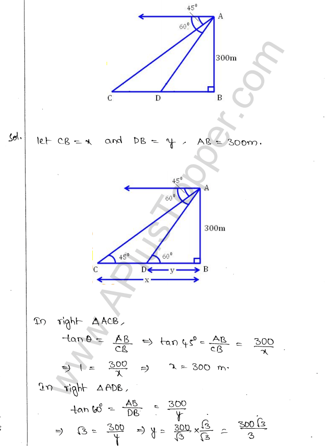 ml-aggarwal-icse-solutions-for-class-10-maths-chapter-21-heights-and-distances-23