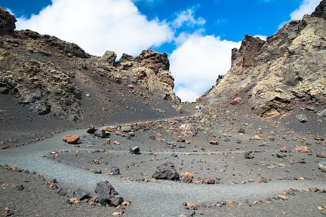 Caldera del Volcano El Cuervo