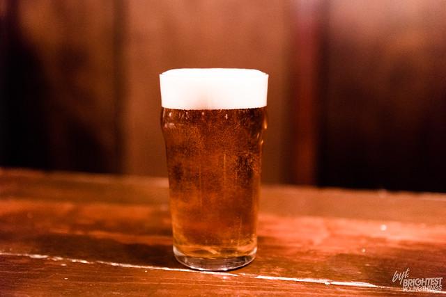 Beer at Meridian Pint
