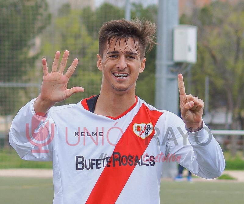 Los Yébenes 1-3 Rayo B