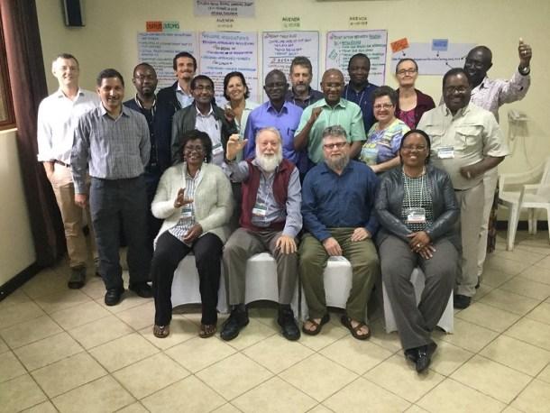 Partcipants: SIMLESA - Africa RISING joint learning event. Photo credit: Jonathan Odhong'/IITA.