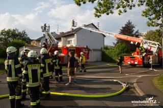 Dachstuhlbrand Oestrich-Winkel 09.05.18