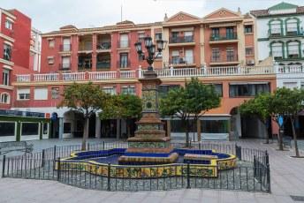 Plaza Cruz Herrera, het uitgaanscentrum.