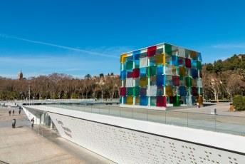 Je hoeft niet helemaal naar Parijs om het Centre Pompidou te bezoeken, dat kan ook gewoon in Malaga!