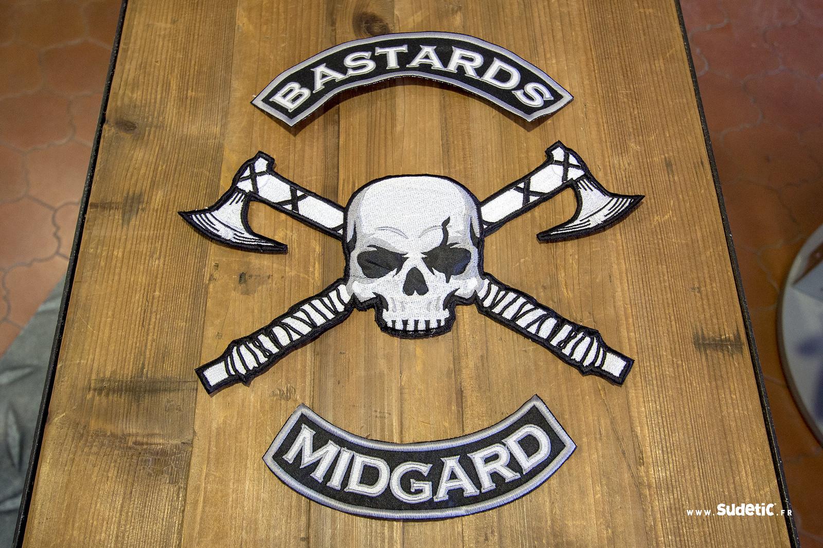 Sudetic ecussons broderie Bastards Midgard