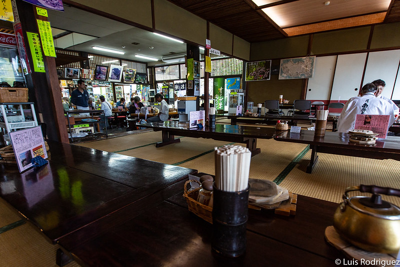 Comedor del restaurante Yasoba-an