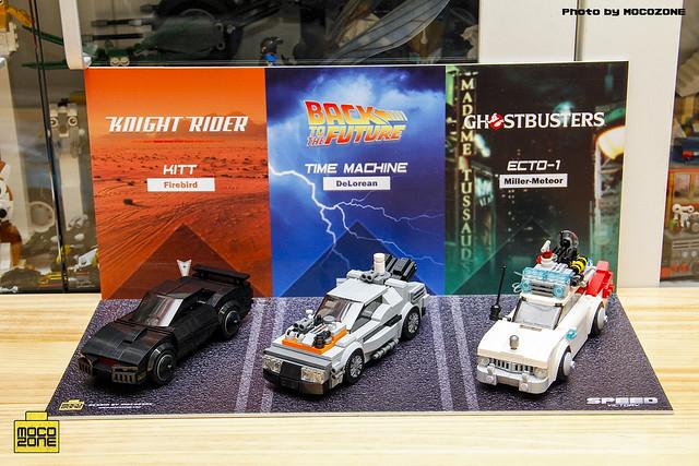 LEGO Speed Champions KITT, DeLorean et Ecto-1