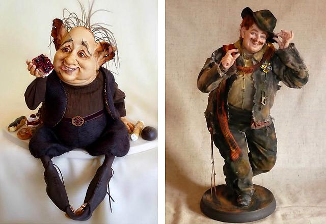 Елена Кунина. Куклы и книги. Книги о куклах.