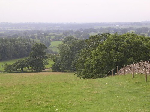 The site of Milecastle 54 from Craggle Hill