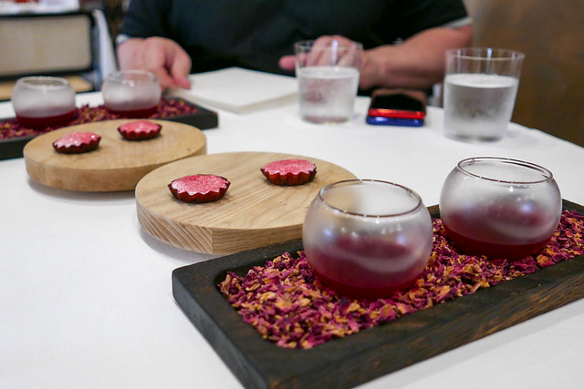 Preserved Raspberry Tart | Fermented Beetroot and Apple