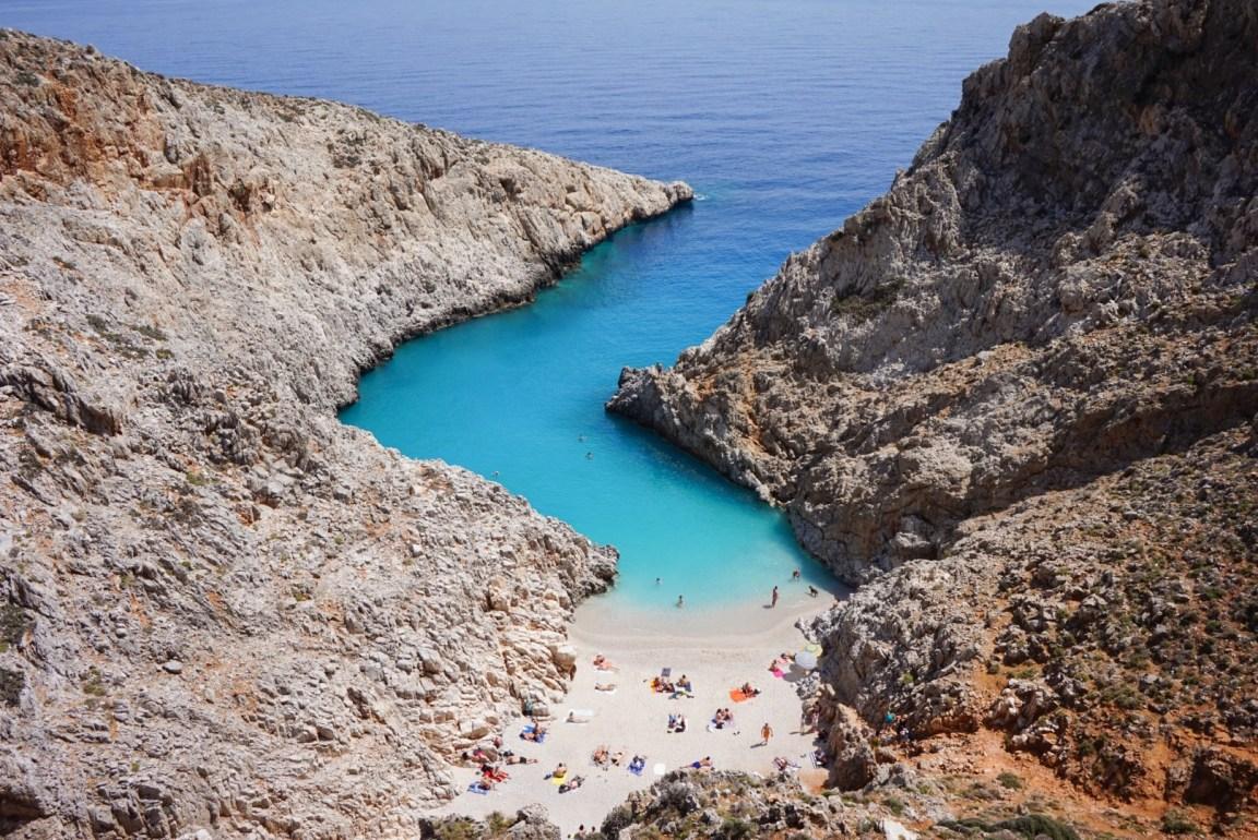 Kreetan tunnetuimmat nähtävyydet: Seitan Limania