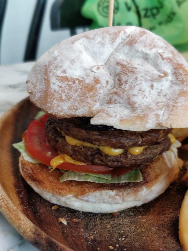 Corner Kitchen Cafe Sheung Wan Hong Kong Bean Burger