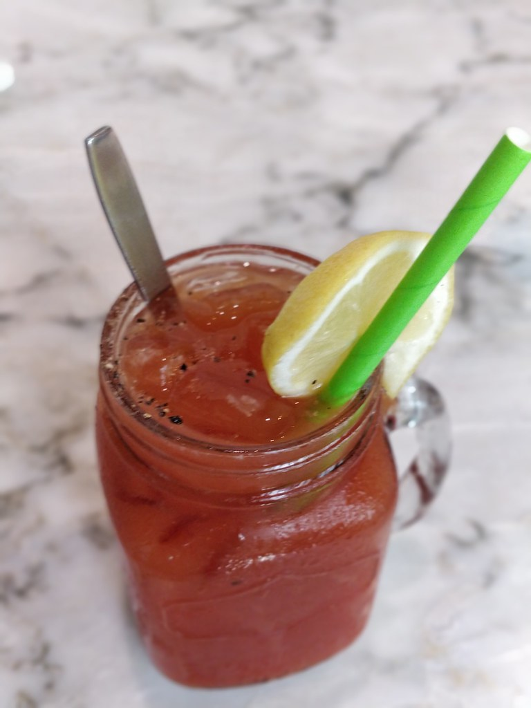 Corner Kitchen Cafe Sheung Wan Hong Kong Bloody Mary