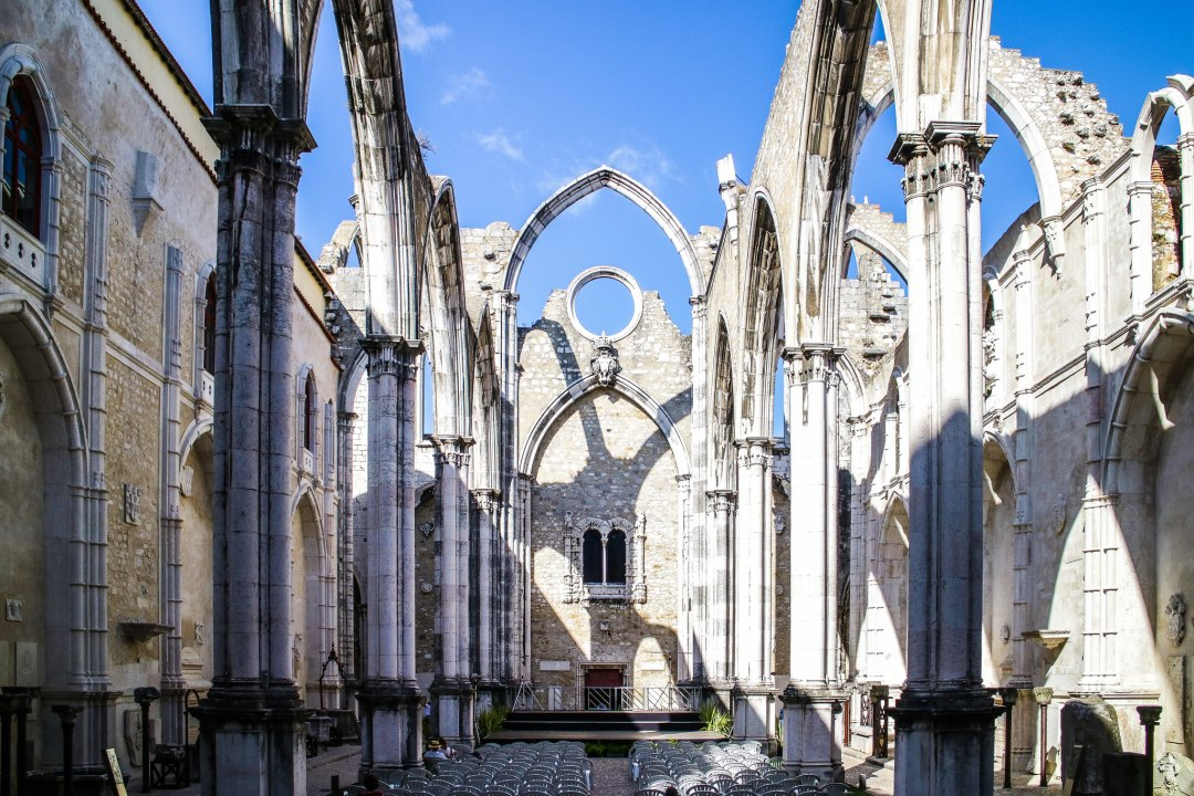 Convento Do Carmo, Lisbona